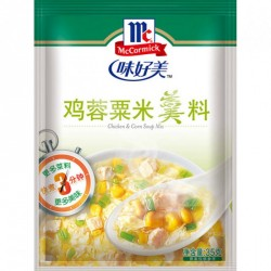 McCormick Mix - (海鲜粟米羹料)Crab & Corn Soup Mix
